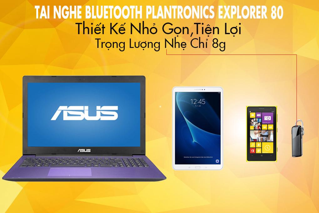 8535d1b6c82 Tai nghe Bluetooth Plantronics Explorer 80 tại Songlongmedia
