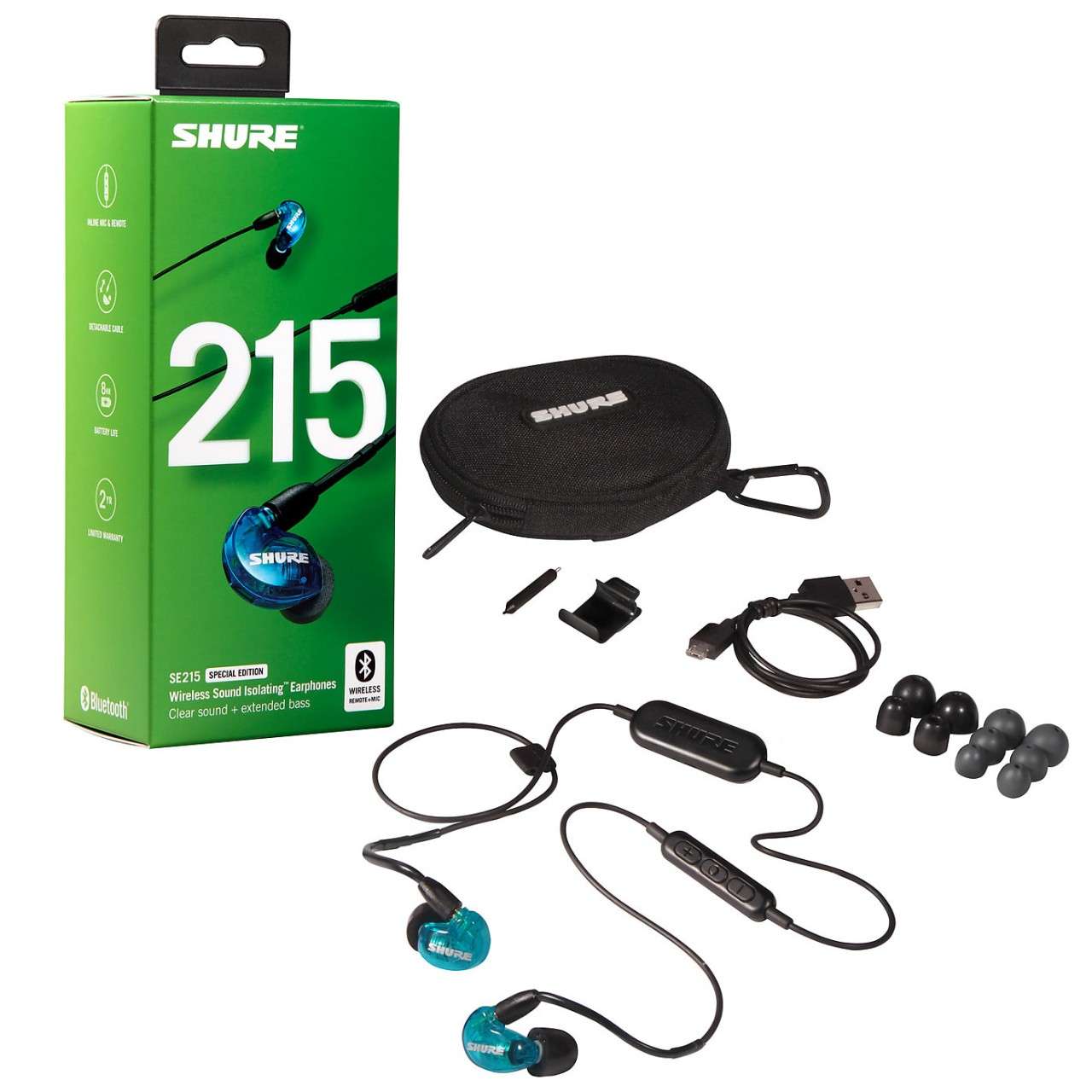 Shure SE215 Special Edition BT1 Wireless