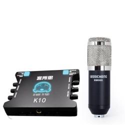 COMBO MICRO THU ÂM WOAICHANG BM-900 + SOUND CARD XOX-K10
