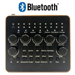 Sound Card V10 Bluetooth hát Live