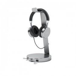 Giá treo tai nghe Hagibis tích hợp 1 Cổng Audio 3.5mm + 3 Cổng USB 3.0